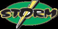 Sauk Rapids Rice High School Storm Logo